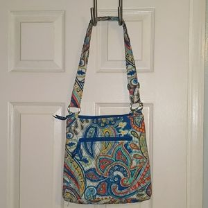 NWT Vera Bradley Hipster in Marina Paisley pattern